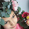 Printemps ♥ couronne d'eucalyptus ♥ flowers ♥ beyoncé touch ♥ ☼