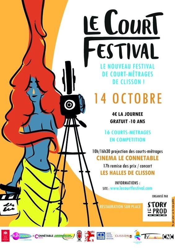 Le Court Festival 2017 flyer