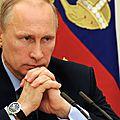 Echec et mat pour l'occident par le maître du kremlin de moscou !