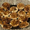 Petites galettes à la pomme