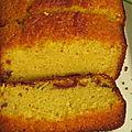 Cake orange, date, cannelle