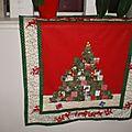 Bannière Sapin de Noel en patch et Feutrine
