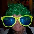 Mon père, ambiance soirée disco...