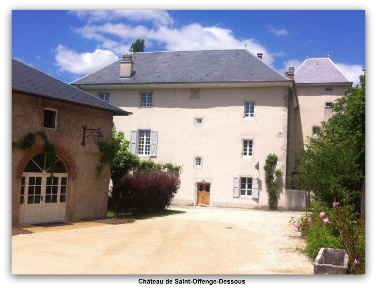 Saint-Offenge château z