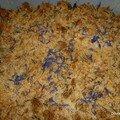 Crumble bleuet de cookingout
