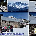Séjour raquettes et skis 10/03/2020