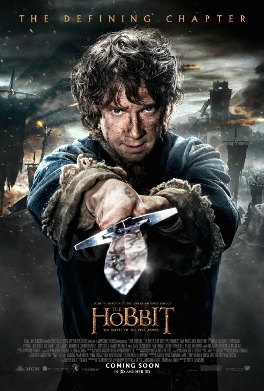 Bilbo The Hobbit The Battle of the five armies movie