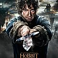 Nouveaux posters the hobbit : the battle of the five armies