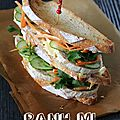 Banh mi, version club sandwich