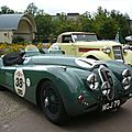 Jaguar xk 120 alloy roadster 1950