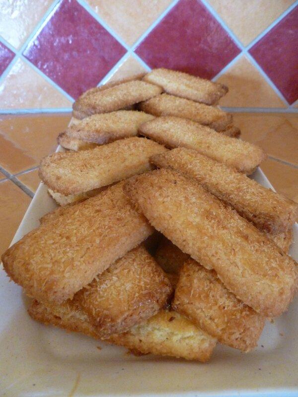 biscuits à la noix de coco bis