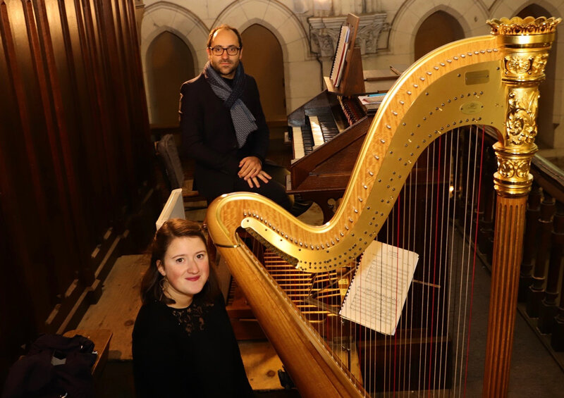 ORGUE NOTRE DAME CONCERT 2019 organiste harpiste