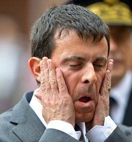 Valls grimace