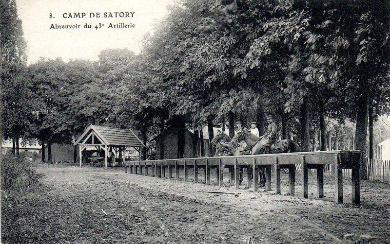 Camp de Satory, Versailles, abreuvoir du 43e artillerie