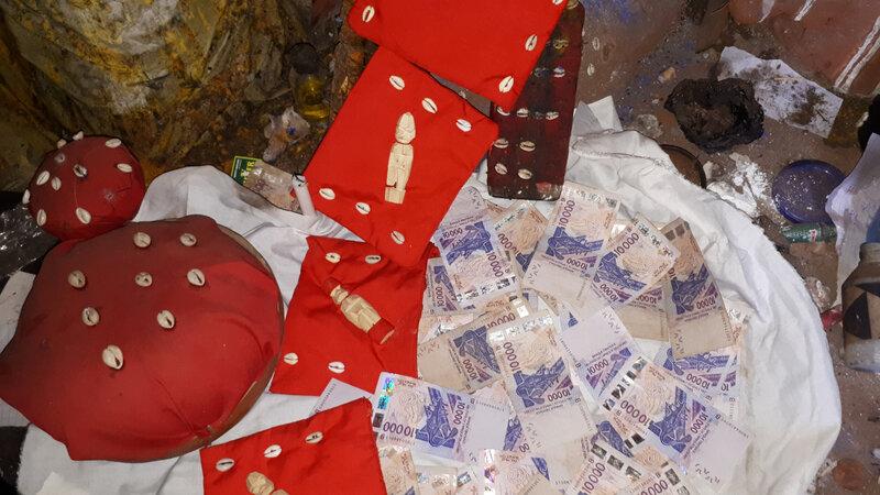 Portefeuille magique multiplicateur d'argent