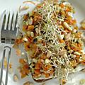 Brunoise de légumes au tartare d'algues