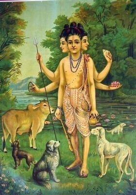 Hind-Dattatreya la trimurti