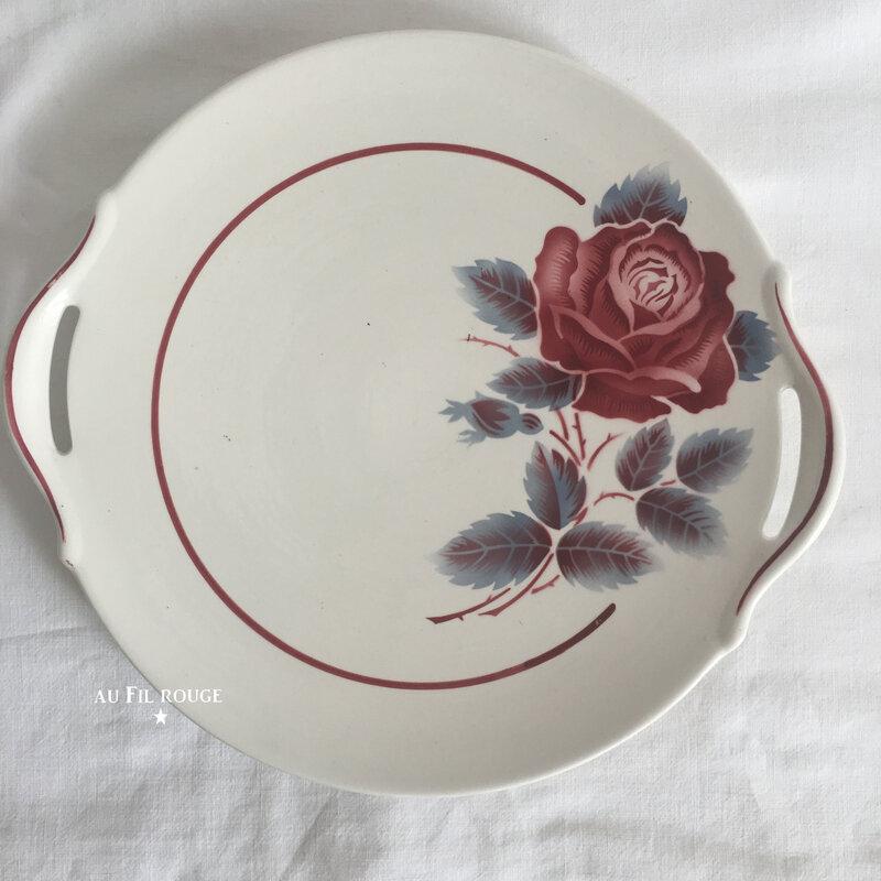 Plat à tarte Lucette diam 26 cm