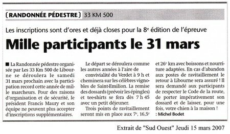 Sud Ouest 15032007