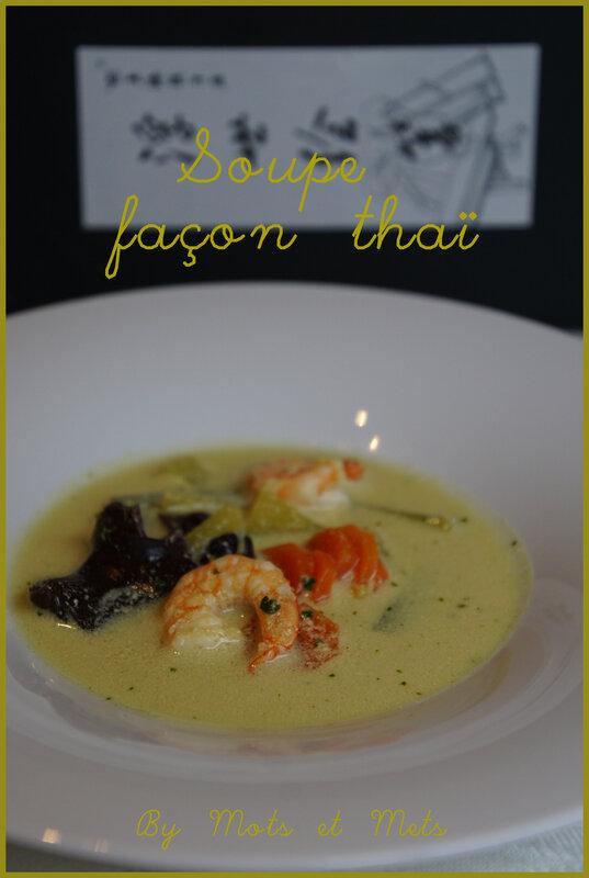 Soupe thaï 1