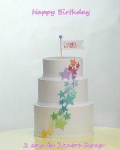 Happy Birthday 2 ans de l'Antre scrap