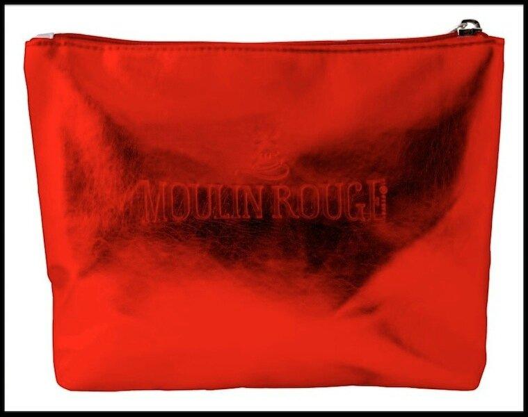 moulin rouge pochette rouge