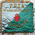 7e RTA 4e baton de marche fanion verso