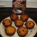Muffins, carottes et ananas