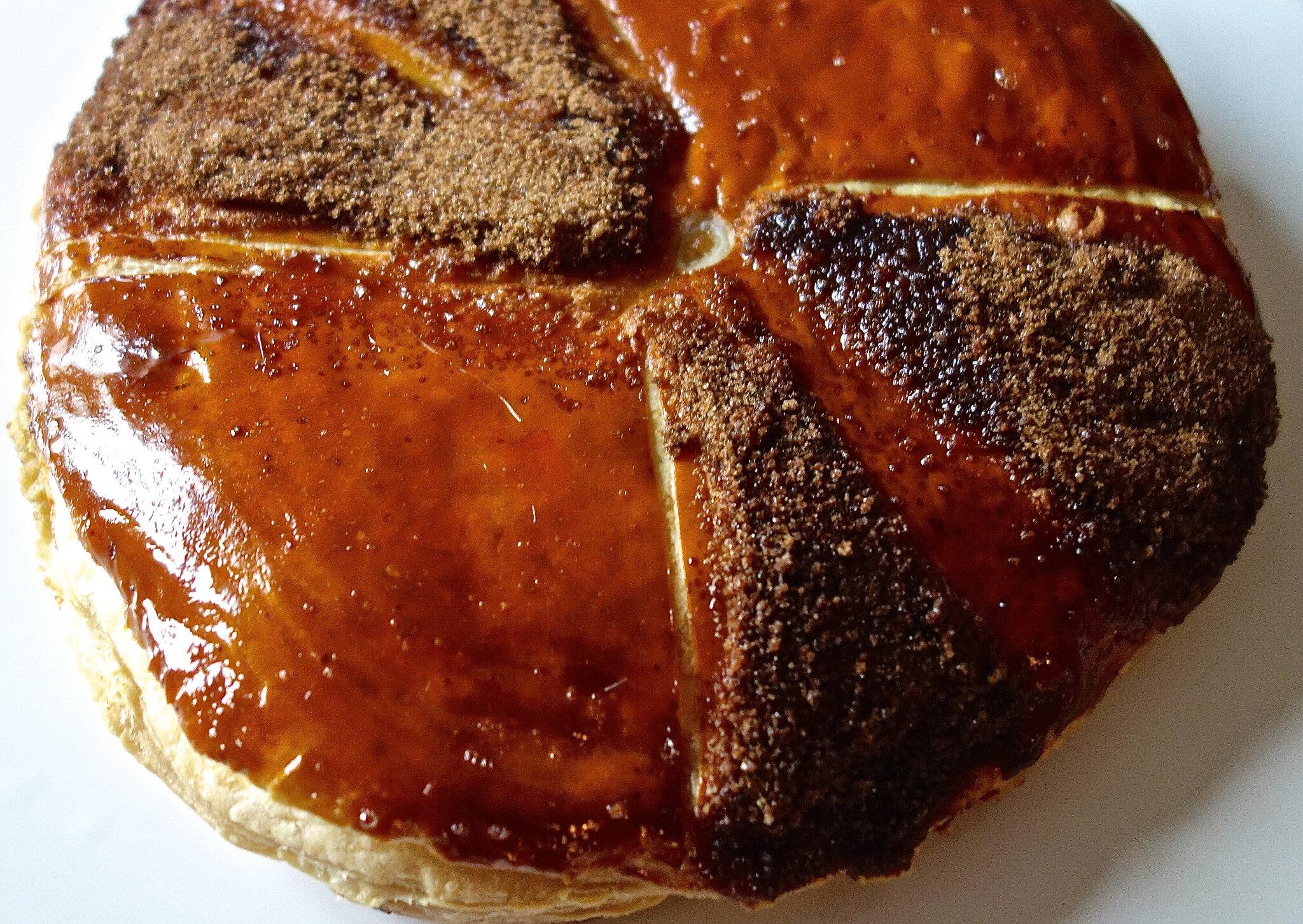 galette 2019 aux marrons et griottes