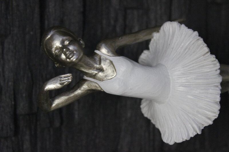danseuse figurine blanche cadeau danse (7)