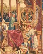 Les Astronomes, tapisserie de Beauvais
