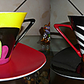 Duo de tasses à café