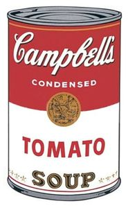 Pop_Art_Andy_Warhol_Campbell_Tomato_Soup can