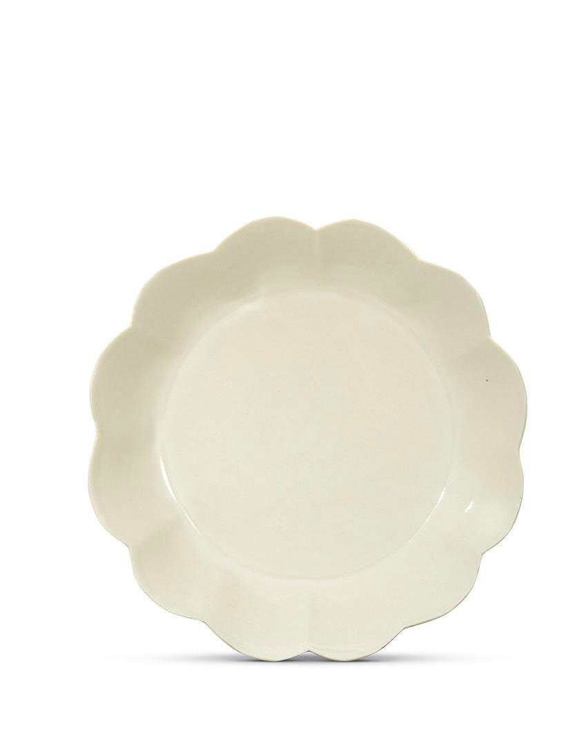 A rare Ding chrysanthemum-shaped washer, Northern Song dynasty (960-1127)
