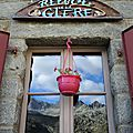 Refuge de la Glère, fenêtre