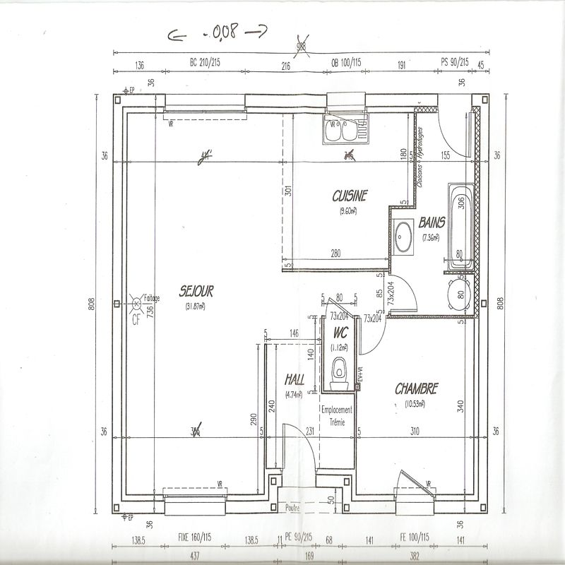 Plan de maisons castor photo de plans de la maison for Maison dans un plan de maison