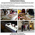 formation vitrail