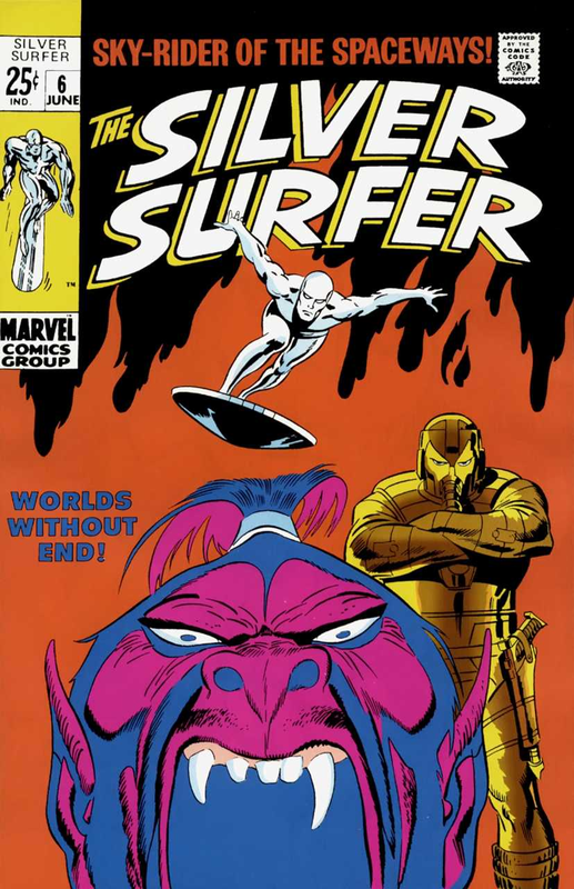 silver surfer 1968 06