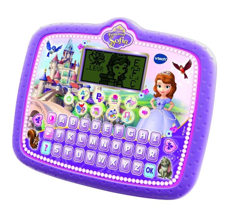Ma Tablette Magique Princesse Sofia / Vtech / Age : 3 à 6 ans / Prix indicatif : 24€
