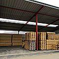 Un hangar de stockage déjà bien utilisé