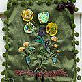 tableau textile AUTOMNE