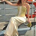 robe de mariée corset bouton d'or