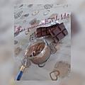 Crème dessert chocolat caramel