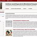 Les archives de la révolution française sont en ligne