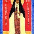 Icône de la Bienheureuse Charlotte de la Résurrection