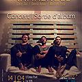 Concert | sortie d'album | samedi 14 avril 2018