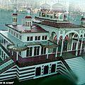 Maquette du Casino Mauresque détruit par un incendie en 1977