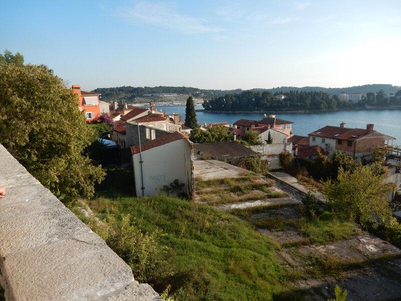 Rovinj, vue depuis la cathédrale 25 octobre 2019