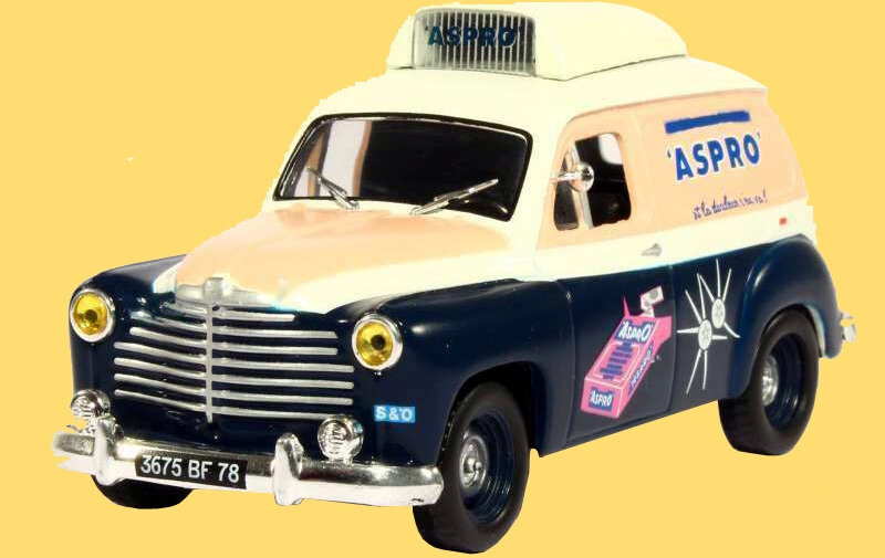 Miniature Tour de France 1955 Renault Colorale Aspro