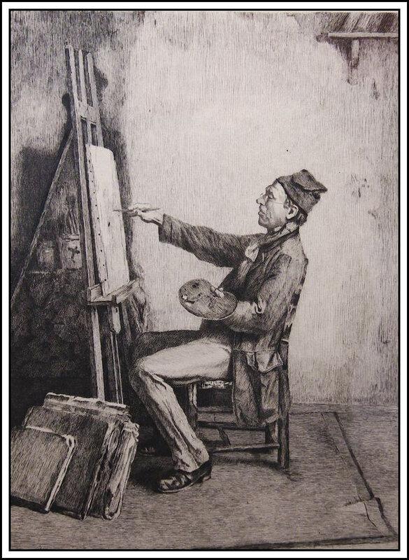 Louis Greuze - le peintre amateur - 1881
